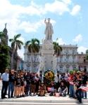 Tributo de la Brigada al Apóstol José Martí